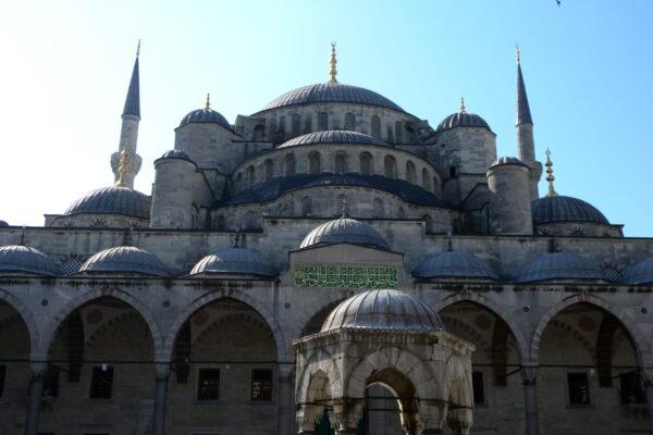 blue mosque in istambul