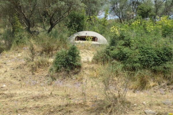 bunkers or ufo ?