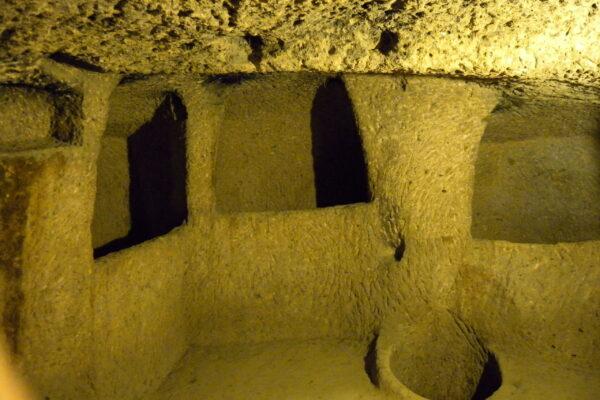 kaymakale, underground city