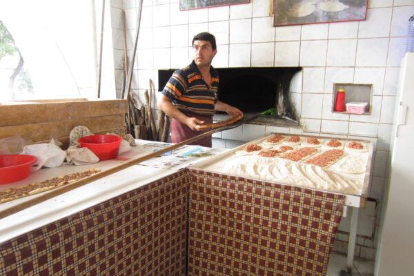 turkish pizza 'pide'