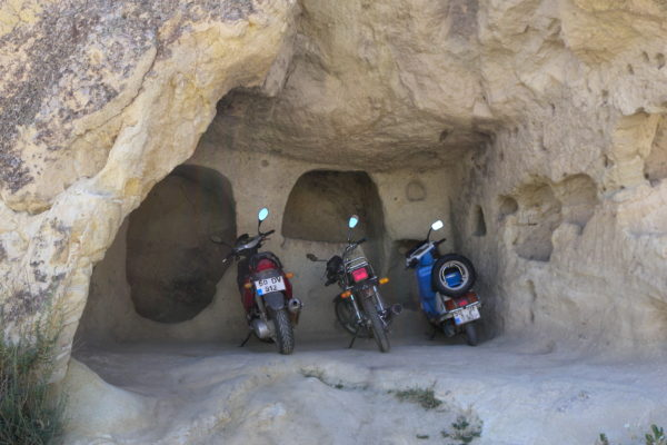 cave motorbike parking