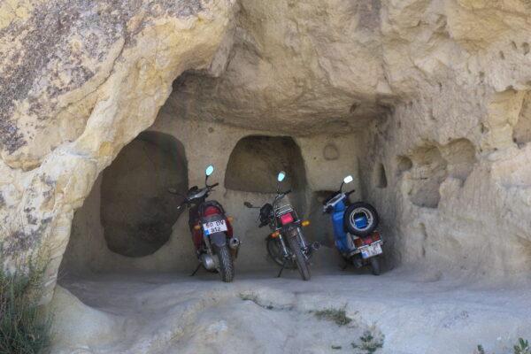 cave motorbike parking