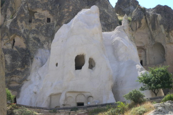 ghost church, goreme park
