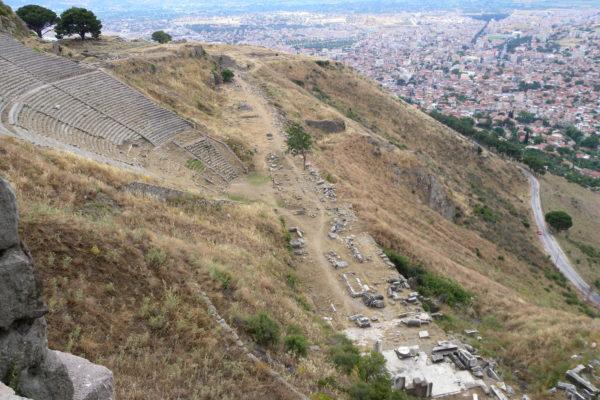 pergamon ruins