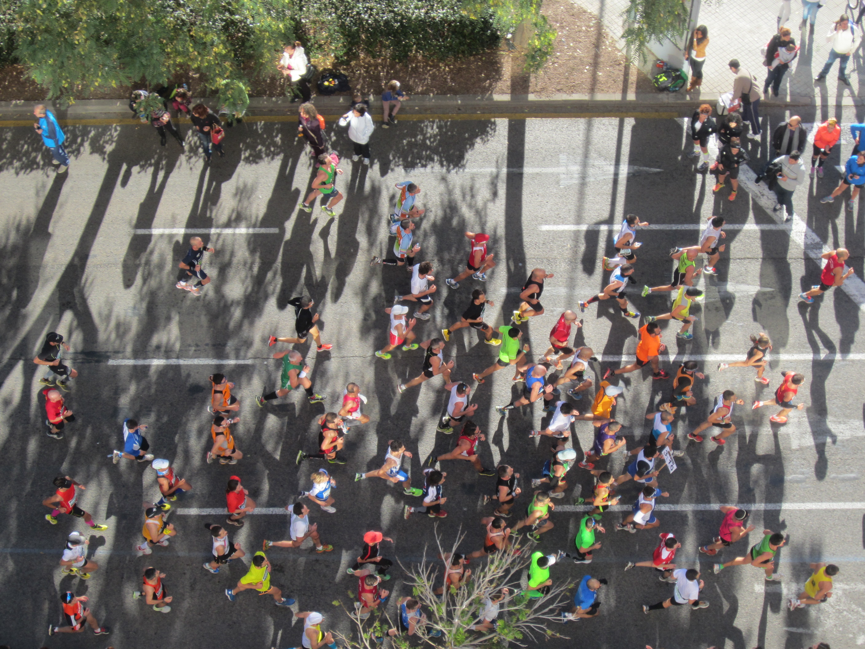 Pertenezco al 1% de la población- He completado un maratón, momento de orgullo!