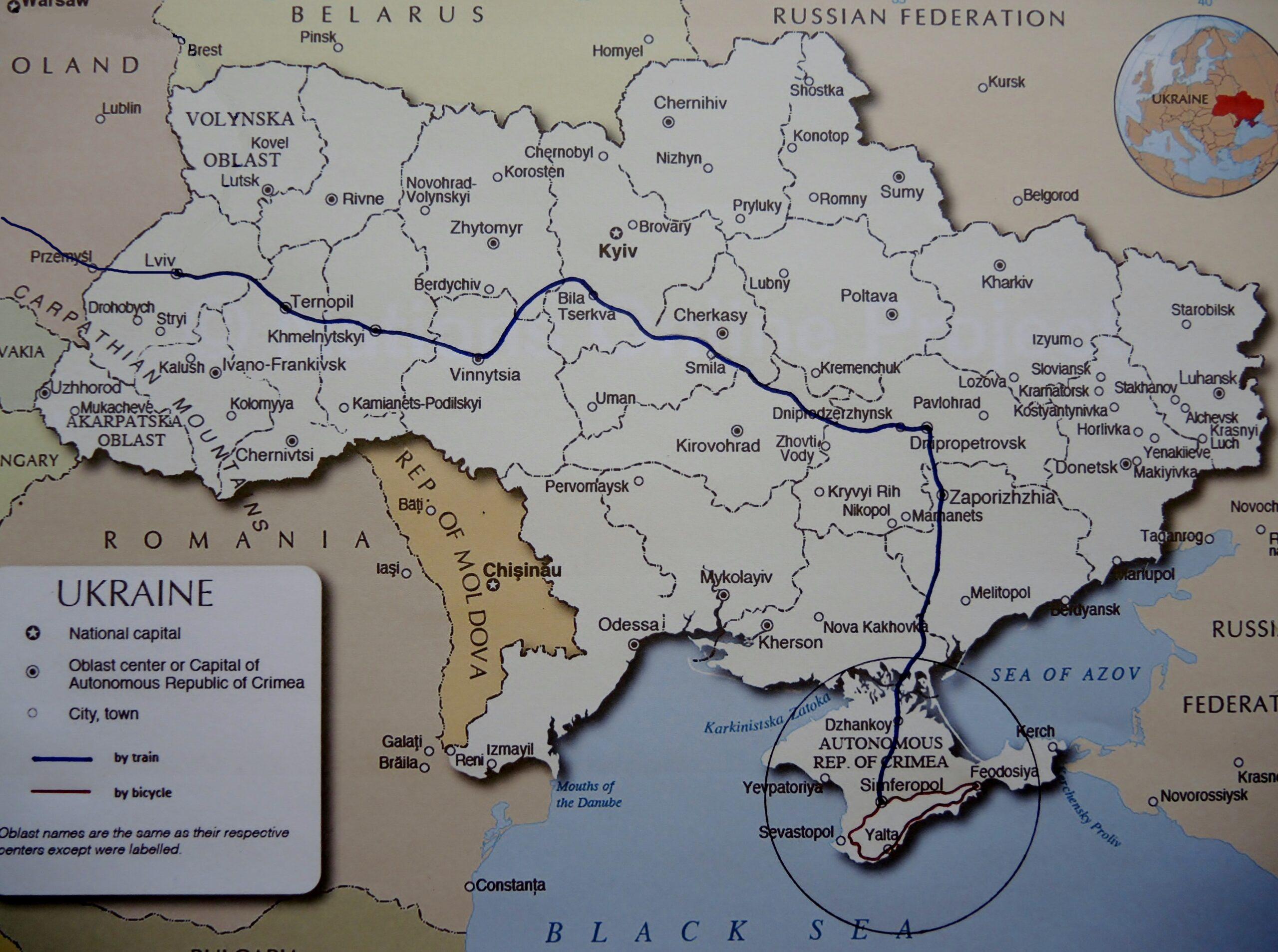 Península de Crimea