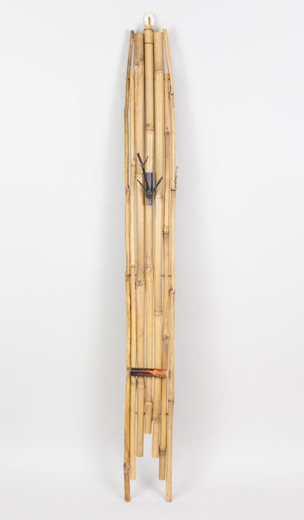 Kakemono de bambú para tanzaku