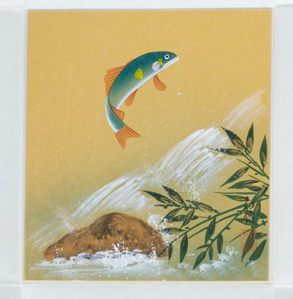 shikishi de salmón mes de julio